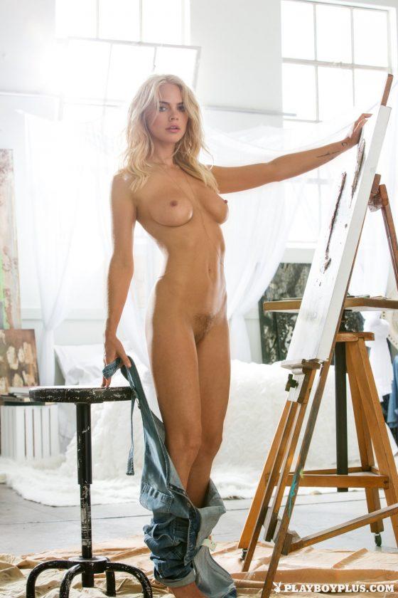 Rachel Harris Nude In A Creative Force Playboy Model Photos